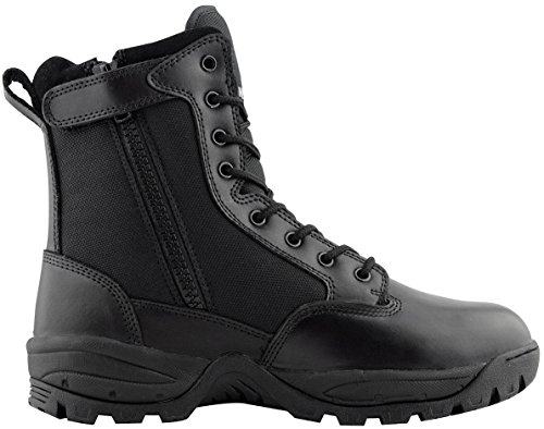 """WIDEWAY Men s 8"""" Inch Military Tactical Boots Full Grain Leather ... 176850fa86c"""