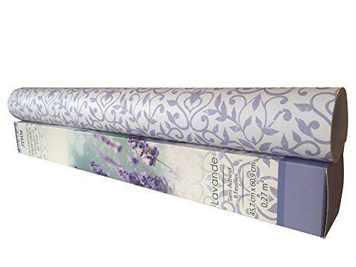 Lavender Fragranced Drawer 8 Sheets Scented Drawer