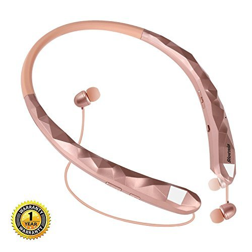Wireless headphones neckband bluetooth - wireless headphones neckband rose gold